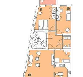 großzügige und moderne 3- Raumwohnung mit Balkon
