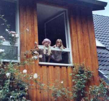 Holzhaus am Landschaftsschutzgebiet