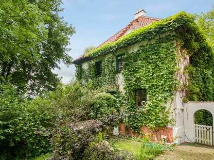 Traumhaftes Anwesen in absoluter Alleinlage, 1,4 ha Grundstück mit Bachlauf und eigener Zisterne
