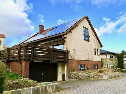 Freistehendes Einfamilienhaus mit Einliegerwohnung in bevorzugter Wohnlage von Grünstadt