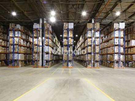 WGK 3 möglich | ca. 5.000 m² Halle + Bürofläche | ca. 13 m UKB