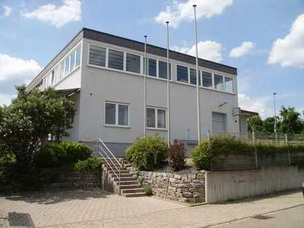 Pforzheim - BIRKENFELD : Büro - und Produktionsgebäude mit Photovoltaikanlage - sofort frei !