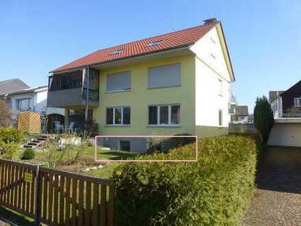 Erstbezug nach Kernsanierung! Moderne 1,5-Zimmer-Wohnung nahe Bodensee mit Garage und Garten