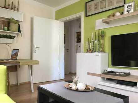 Möblierte 2 Zimmer EG-Wohnung im Zentrum- ideal für Studenten, Paare, Pendler