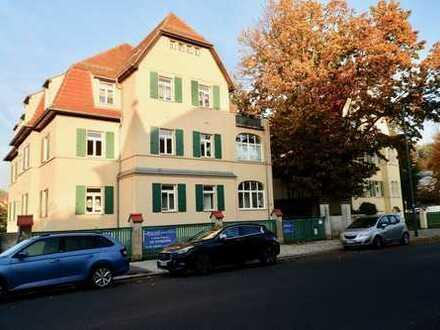 Vermietete 1-Raumwohnung mit Gartennutzung im wunderschönen Kulturdenkmal in Dresden Trachau!