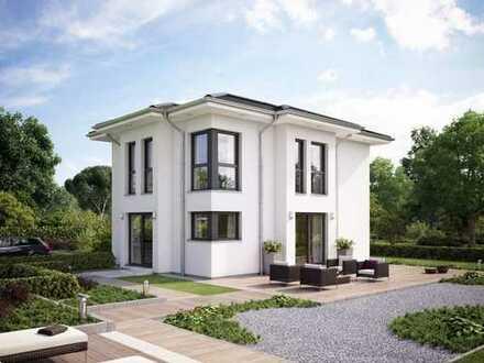 schicke Stadtvilla auf ruhigen Grundstück - komplett fertig