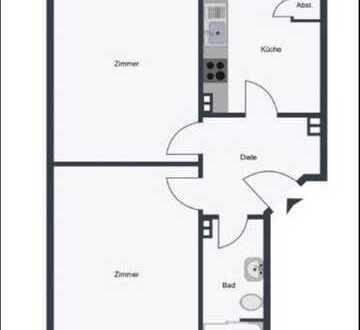 Stilvolle 2-Zimmer-Wohnung in Barmbek-Nord, Hamburg