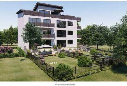4 Zimmer Wohnung mit großem Gartenanteil - Baubeginn ist erfolgt