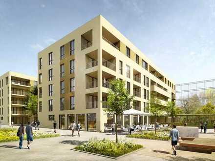 Erstbezug mit EBK und Terasse: exklusive 1-Zimmer-Erdgeschosswohnung in Reutlingen