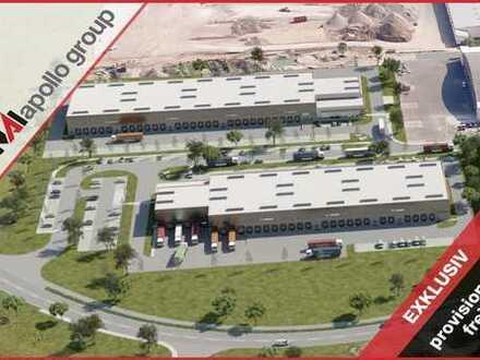 PROVISIONSFREI   Logistik-Neubau am Hanauer Kreuz   24/7 Nutzung