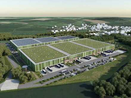 EXKLUSIV & PROVISIONSFREI: bis zu 55.000 m² Logistik-Neubau- GREEN BUILDING, teilbar