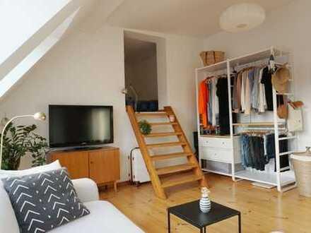 Wohnen im Szene-Kiez am Boxi - 100 qm möblierte Traum Dachgeschoss (für 2 Personen) - 4 Monate
