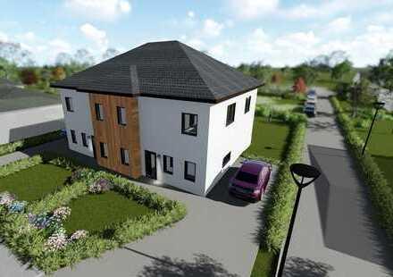 Neubauprojekt: Exklusive Doppelhaushälfte 4 Zimmer, Hobbyraum und Terrasse in Bielefeld Brake