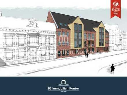 Wohnen am Hinter Tief! Neubau Penthaus-Wohnung Nr. 12 mit Balkon in zentraler Lage!
