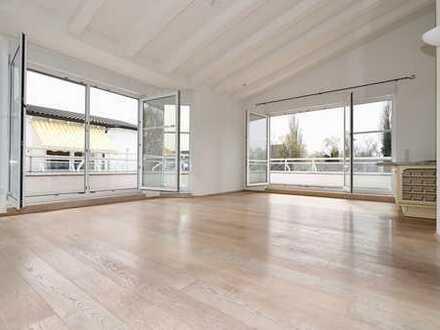 Penthouse Nähe Phönixsee, Klimaanlage, 2 TG-Plätze