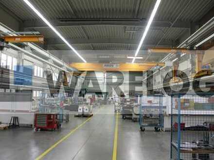 Produktions-/Lagergebäude mit Verwaltungsgebäude zu verkaufen!