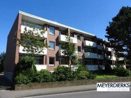 Nadorst - Lehmkuhlenstraße: 1-Zimmer-Wohnung im Erdgeschoss mit Balkon -innenstadtnah gelegen