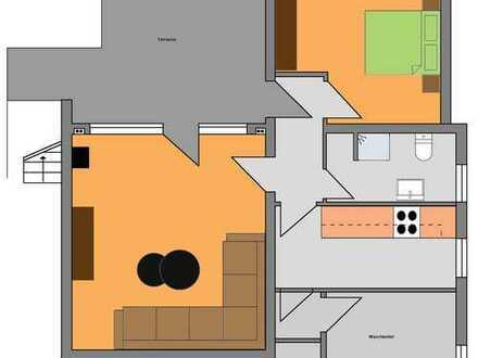Gemütliche Einliegerwohnung mit separatem Eingang und Terrasse in Boppard/Buchholz