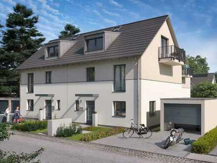 Moderne Doppelhaushälften Haus A + B