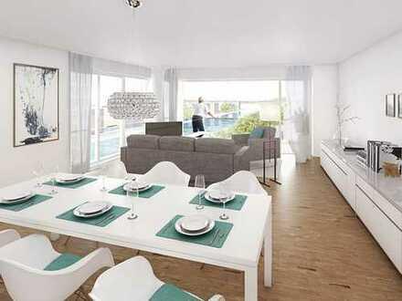 Pulsierendes Quartier am Wasser! Moderne 3-Zimmer-Wohnung mit hoher Aufenthaltsqualität