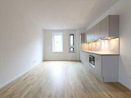 Vielseitige Ausstattungshighlights - 2 Zi, 77 qm, Einbauküche und Loggia *Erstbezug*