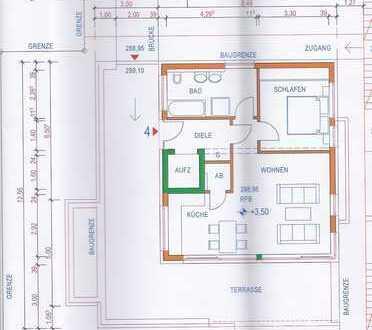 Barrierefreie gehobene Penthouse-Wohnung in Enzkreis -Kämpfelbach