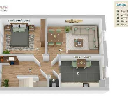 Obj.-Nr. 361 Maisonette-Wohnung mit ca. 95m² in einem 2-Familienhaus in Walle/Osterfeuerberg