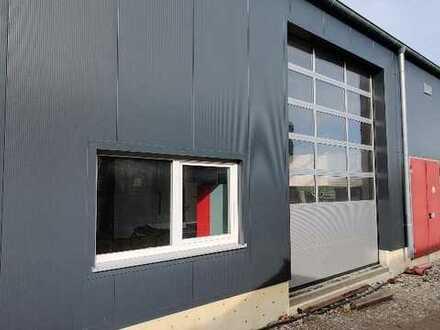 Neuer Firmensitz mit beheizter Produktionshalle incl. Büro 135m² oder 270m² in Mering bei Augsburg