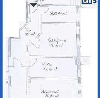 2-Zi-Wohnung in bester City-Lage