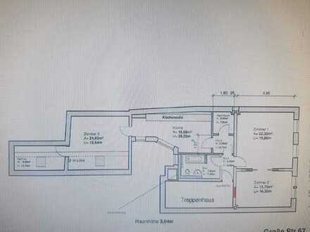Charmante 3 Zimmer Altbauwohnung in der Flensburger City