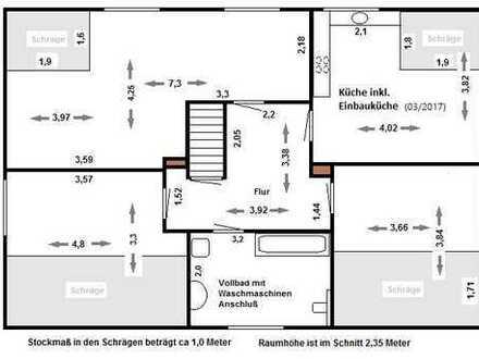 Schöne drei Zimmer Wohnung in Bremen, Aumund-Hammersbeck