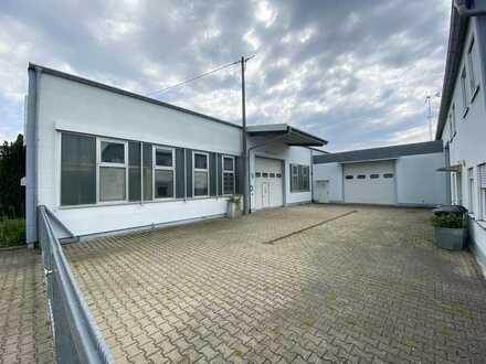 Gewerbeareal mit Produktions-, Lager- und Büroflächen
