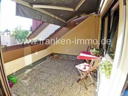 Helle und ruhige 2 Zimmer-Dachterrassenwohnung, 65 qm, in Stein b. Nürnberg