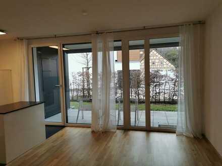 Neuwertige 2-Zimmer-Wohnung mit Balkon und EBK in Ostalbkreis
