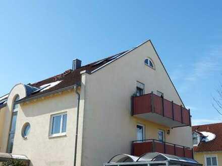 Vermietete Dachgeschosswohnung mit Balkon in Ingolstadt-Süd