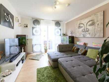 Attraktive 2,5 Zimmer Wohnung mit sonnigem Südost-Balkon
