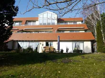 Sonnige Maisonette-Wohnung (2 Wohnungseingänge) mit großer Terrasse nach Südost und Tiefgarage!