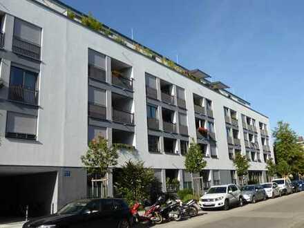 München-Sendling: Neuwertige und ruhige 2-Zi.Whg. mit Süd-Loggia in gepflegter Lage