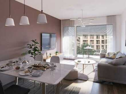 Exklusive 2-Zimmerwohnung mit großzügigem Balkon