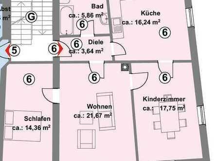 Schöne 3-Zimmer-Eigentumswohnung im Herzen von Durlach