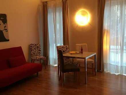 Stilvolle, neuwertiges Apartment -Loft-Wohnung , möbliert mit Einbauküche in Dietramszell Ascholding