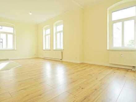 Erstbezug nach Sanierung * EG * neue EBK nach Maß * Balkon * Badezimmer mit Fenster * 2 Abstellräume