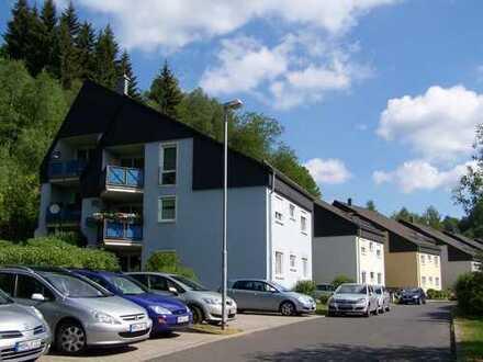 die KINDERFREUNDLICHE im EG!4-Zi-Familien-Wohnung! mit Südbalkon in Hirschbach bei Suhl