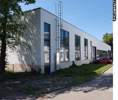 beheizte, durchgängig befahrbare Halle mit vielfältigen Nutzungsmöglichkeiten in Augsburg-Lechhausen