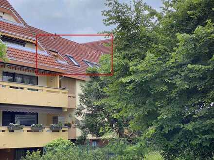 Großzügige 2 ZKB Eigentumswohnung mit sonniger Dachterrasse und Garage Nähe Kraichbach