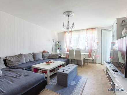 Sonnige Aussichten in Hochparterre. Modernisierte 3-Zimmer-Wohnung mit Südbalkon. In Köln.