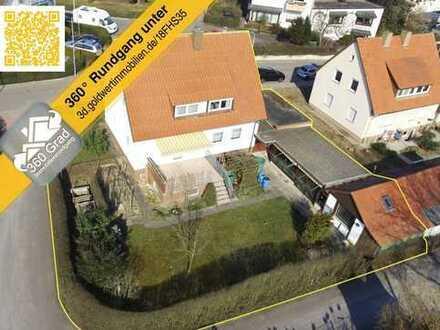 GOLDWERT: Sonnenverwöhnter Familientraum mit Gartenoase!