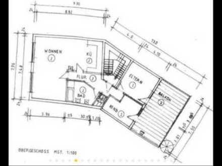 Geräumige 3 Zimmer - Küche - Bad - Wohnung
