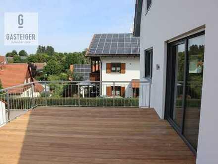 Erstbezug. Modernes Einfamilienhaus mit Einliegerwohnung im Grünen.
