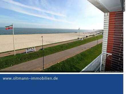 Blick auf den Hafen und das Meer - Wohntraum mit Balkon!